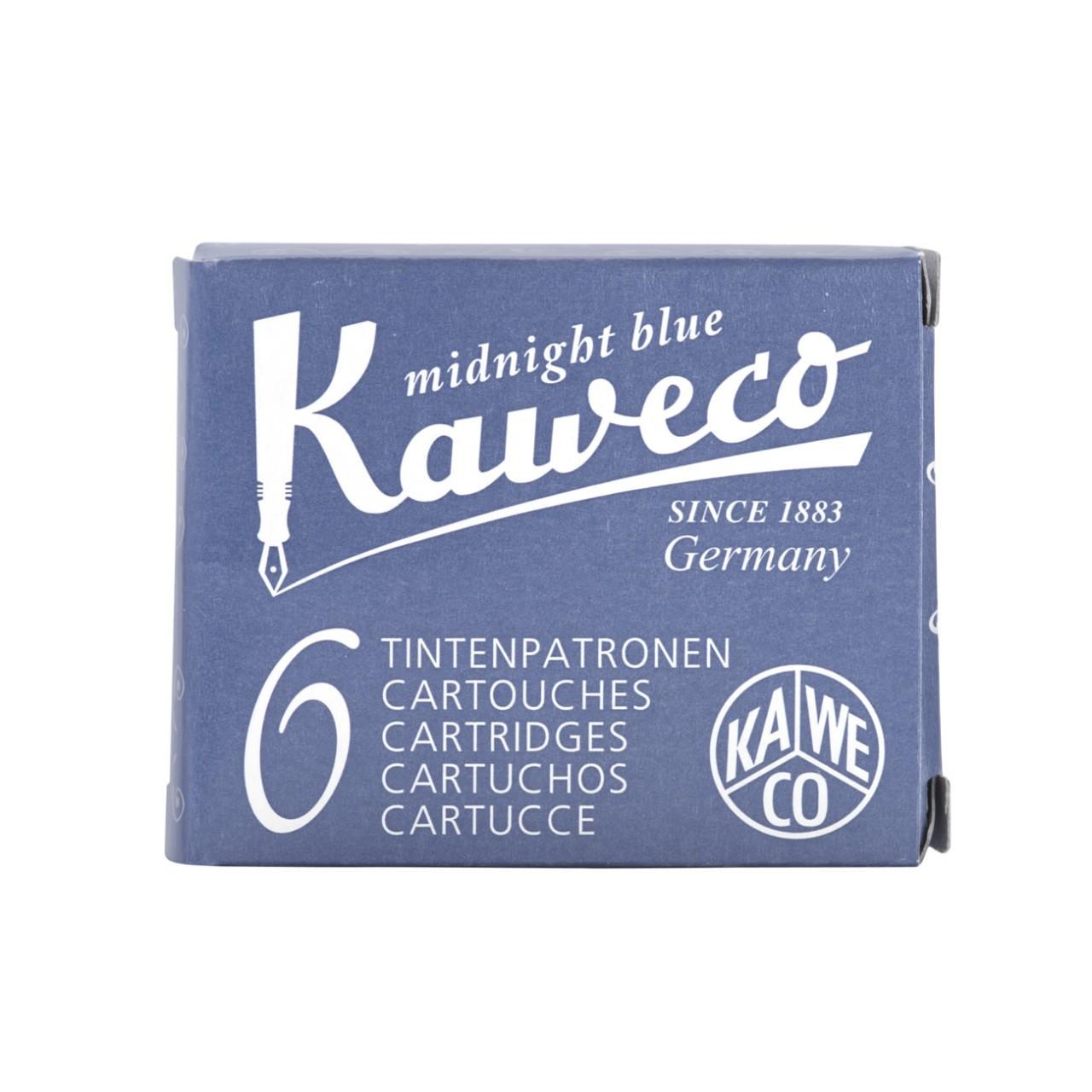 Kaweco Tintenpatronen 6 Stück mitternachtsblau VE=20 Pack